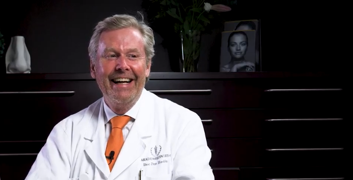 Dr Per Hedén enjoy working with NextMotion aesthetic